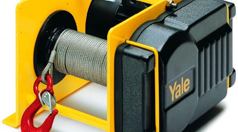 Wciągarki linowe elektryczne stacjonarne YALE