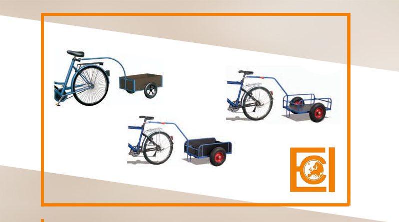 wózki transportowe do roweru rowerów eci
