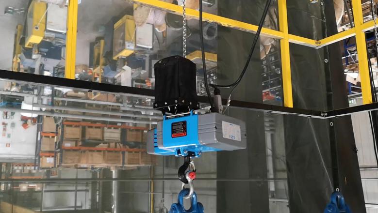 nowa generacja wciągników elektrycznych łańcuchowych volt trac