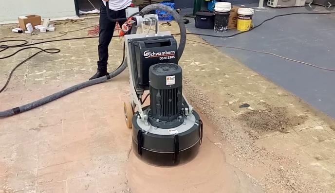 Szlifowanie posadzek i betonu oraz ich renowacja - czym szlifować beton?