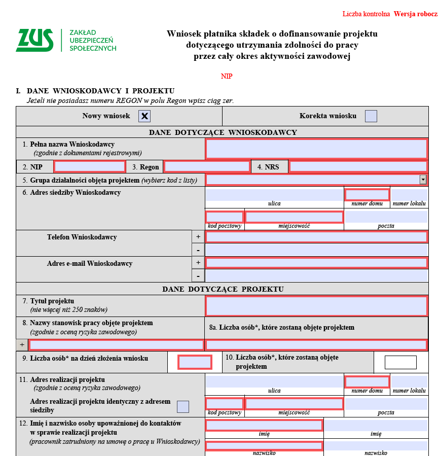 Dofinansowanie ZUS na BHP - zakup maszyn i urządzeń   PORADNIK